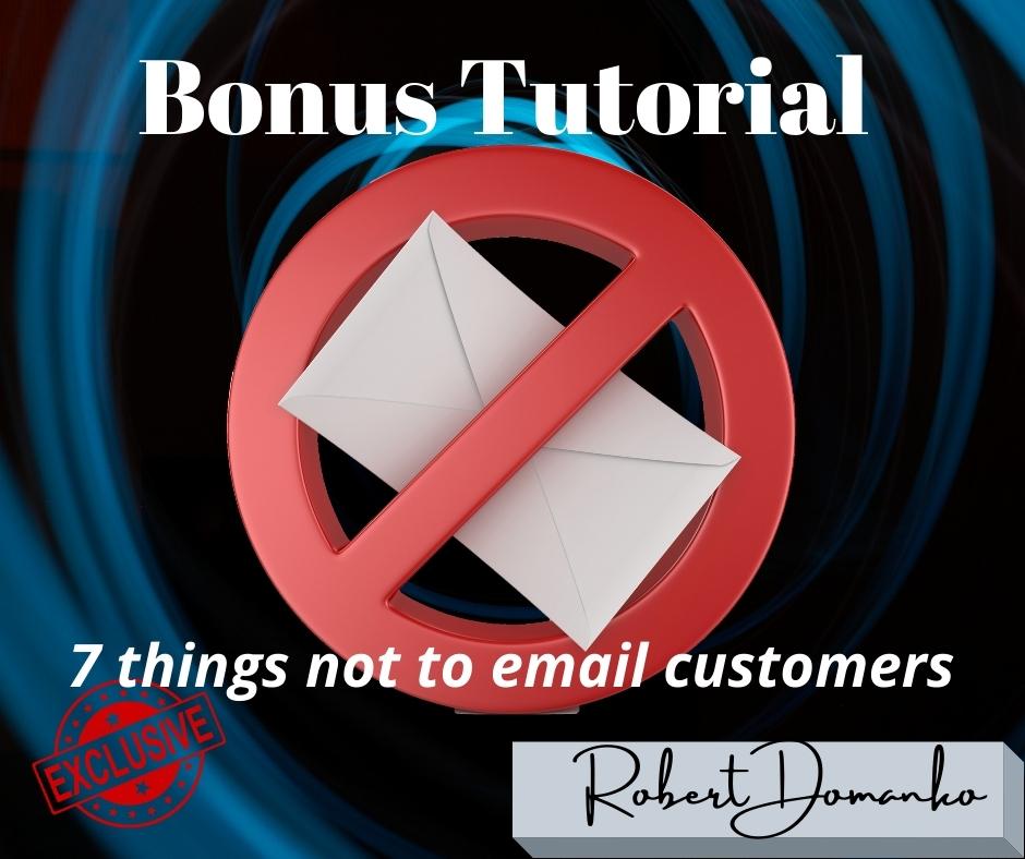 Bonus 7 no email